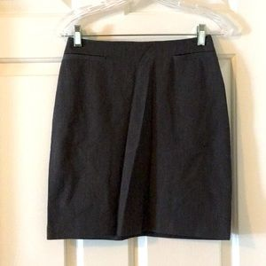 The Limited Mini Skirt Pencil Straight Gray